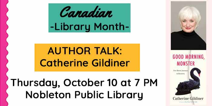 October 10 Nobleton Library Book club